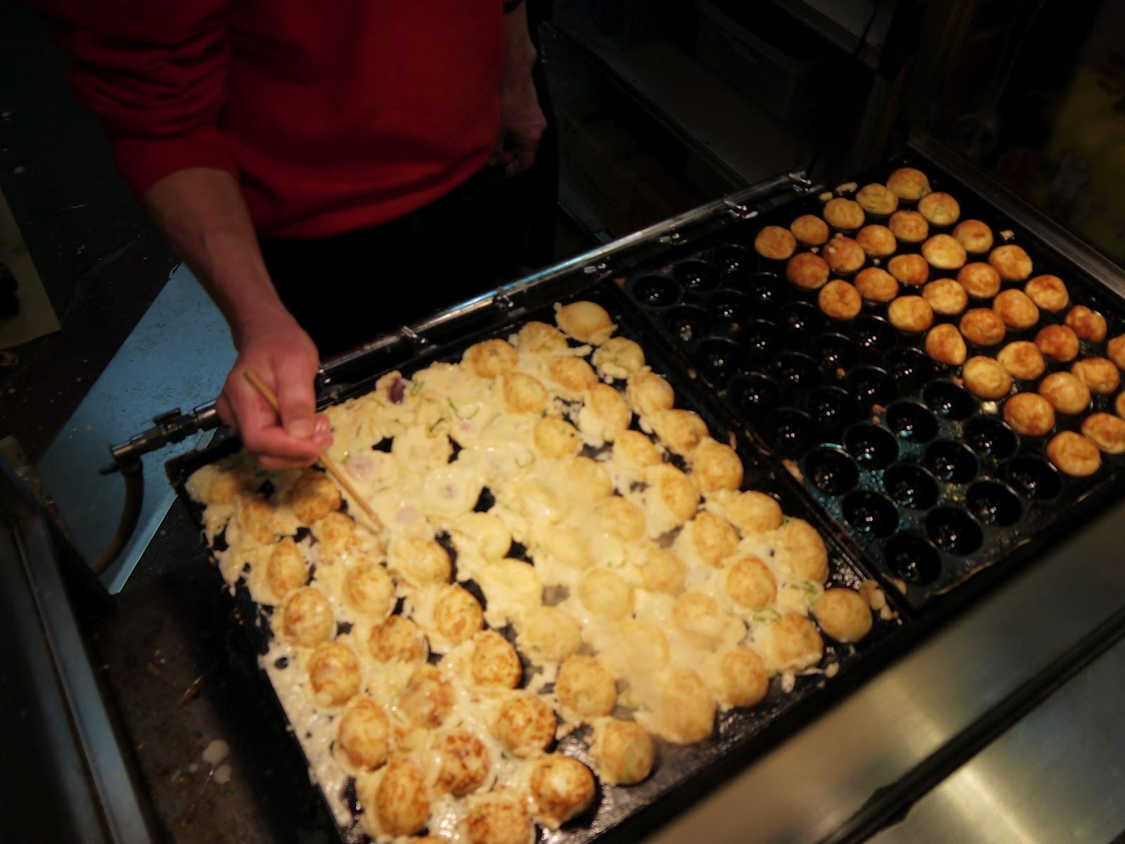 Ma vraie cuisine japonaise cuisine de rue osaka takoyaki - Ma vraie cuisine japonaise ...