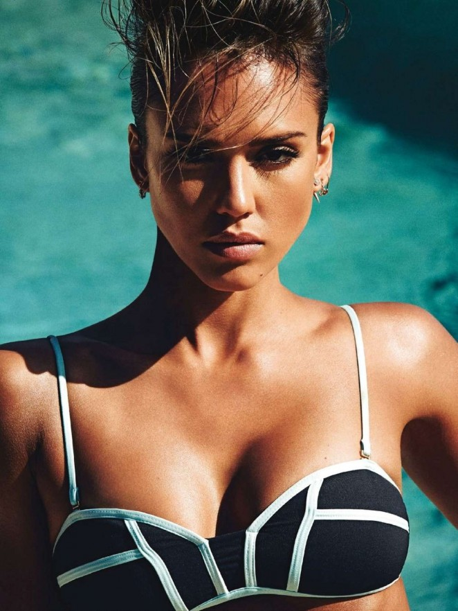 Jessica Alba is sexy for Shape Magazine June 2015