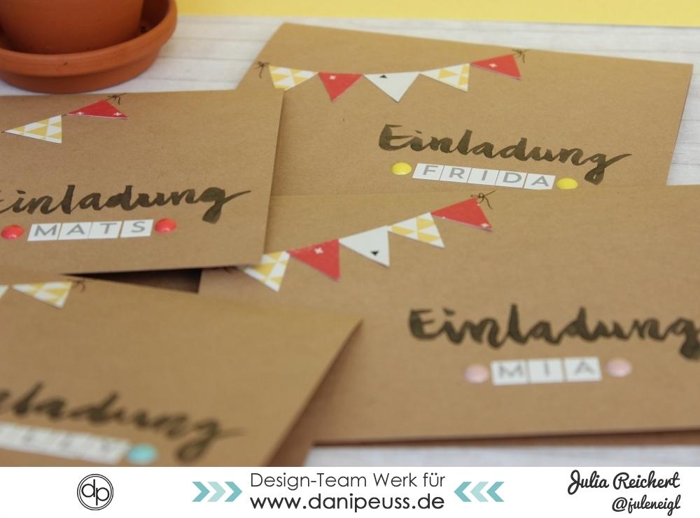 Danipeuss.de :: Blog: Diy Einladungen Zum Kindergeburtstag,  Einladungsentwurf