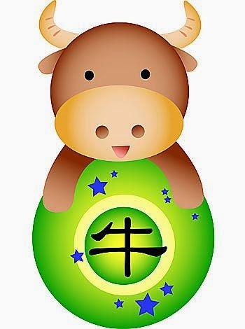 Zodiaco Chino para niños signo del Buey