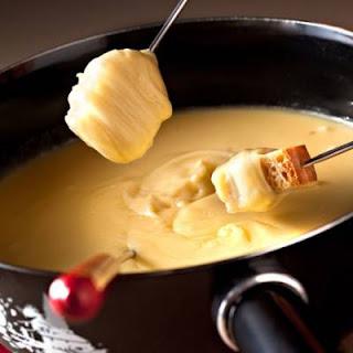 fondura di formaggio,gruyere
