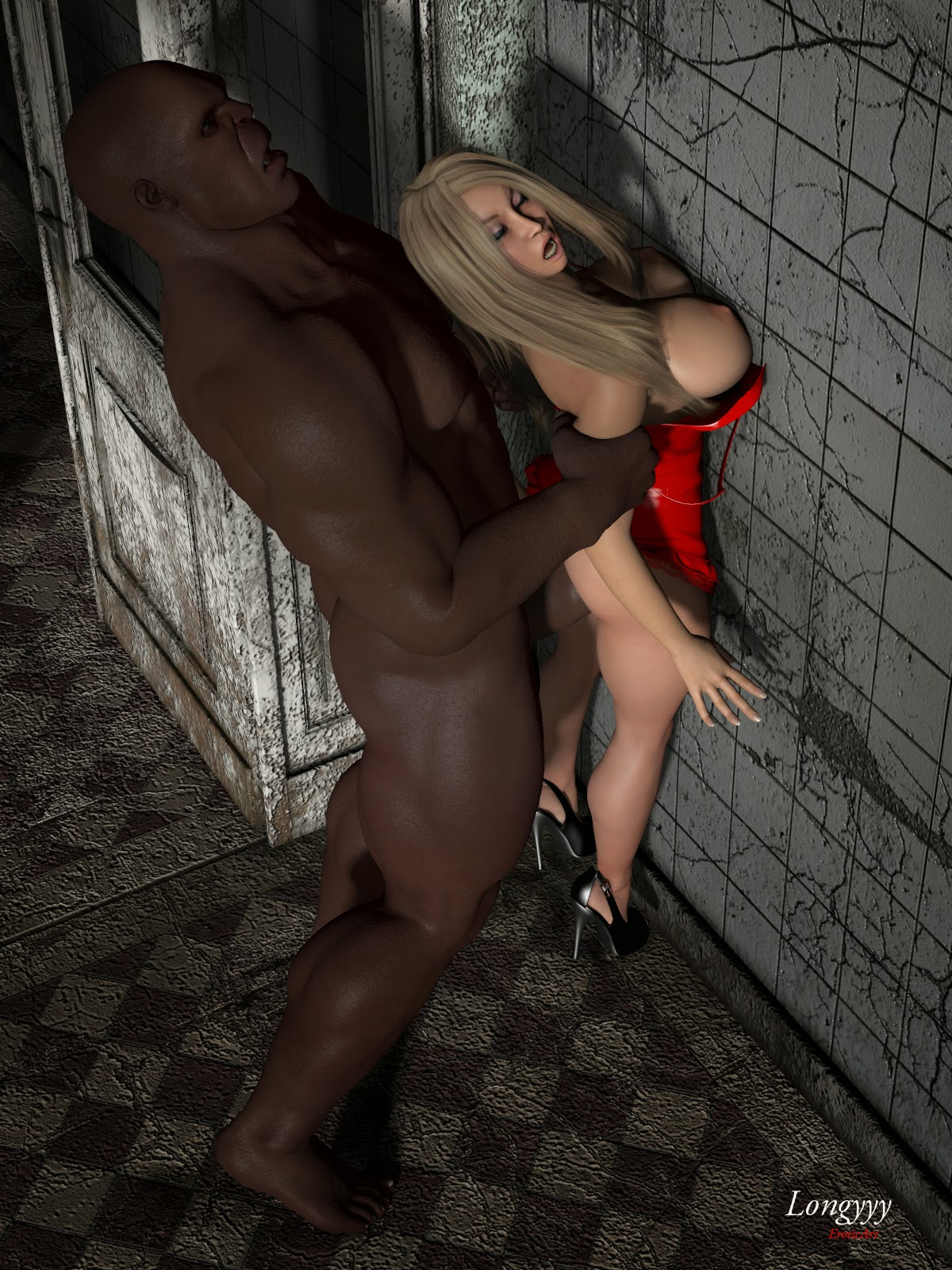 3d babe trapped and fucked by monsters 5