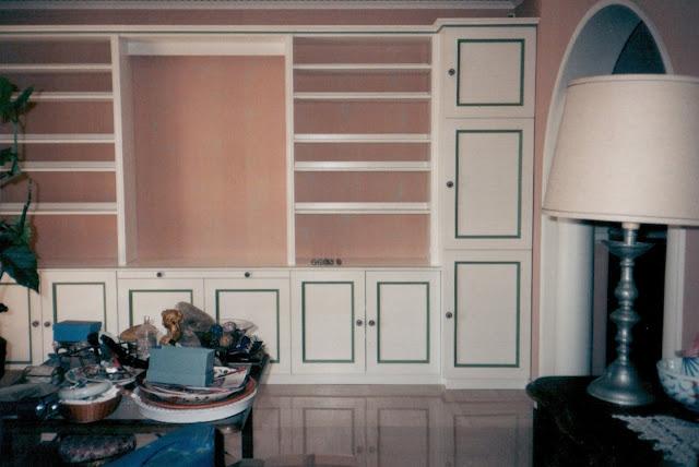 Menuiserie vanin biblioth que avec portes tag res - Bibliotheque avec portes ...