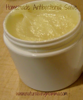 Homemade Antibacterial Salve: Guest post by Amanda of Natural Living Mama