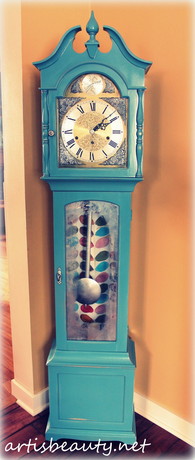 Art Is Beauty Grandmother Clock Reveal Wild And Crazy
