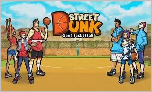 Street Dunk: 3 on 3 Basketball for Android