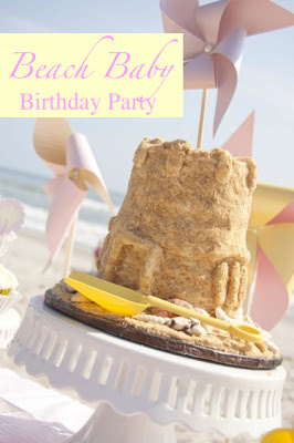 Baby Birthday Party Ideas on Beach Baby Photoshoot Birthday Party Ideas Summer Girl Sand Cake
