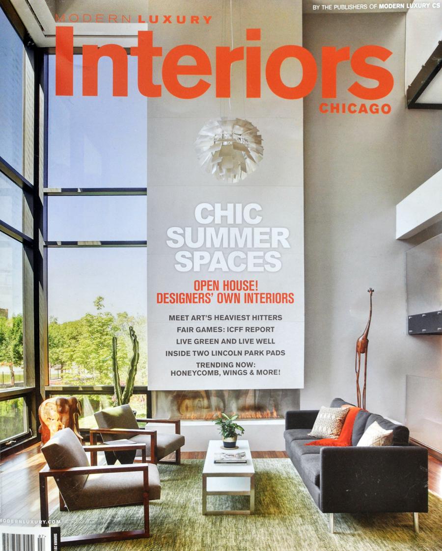 JOE BOUDREAU: Modern Luxury Interiors Chicago