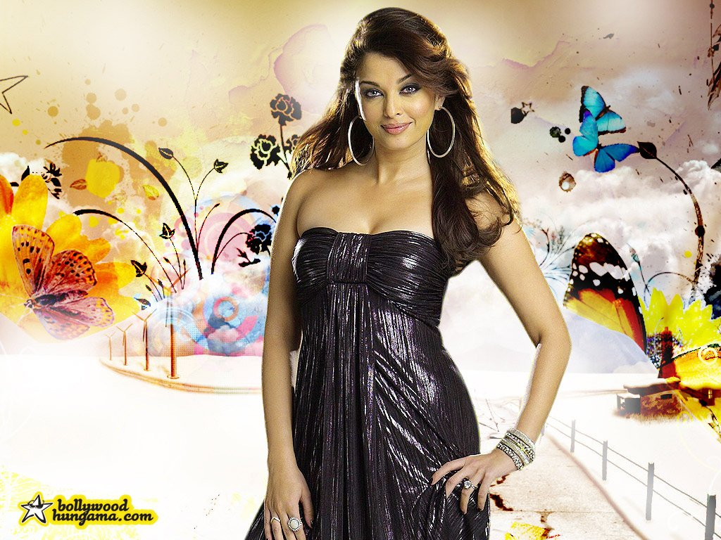 Aishwarya Rai SantaBanta HD Wallpapers