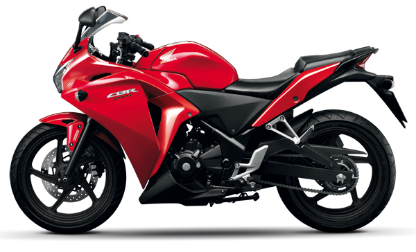 Latest Honda CBR 250R Red