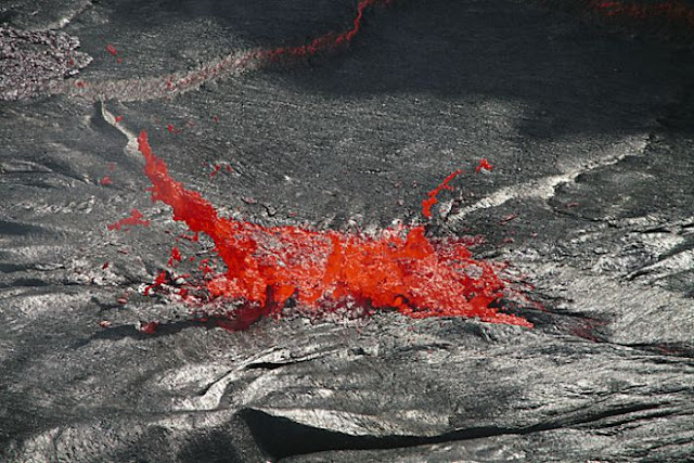 The Lava Lake of Erta Ale Volcano, Ethiopia