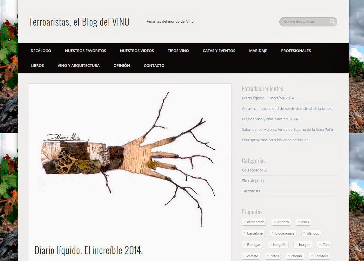 Entrevistas a Enobloggers Terroaristas el BLOG del VINO
