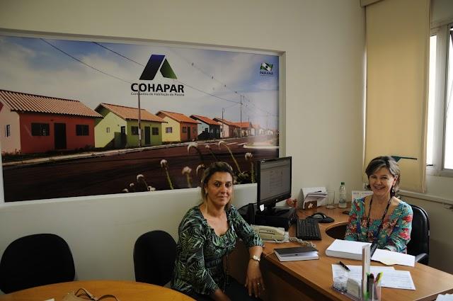 Prefeita de Altamira do Paraná solicita novas moradias a Cohapar