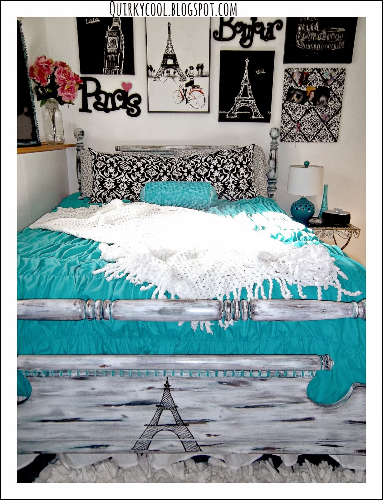 Room makeovers a 10 year old 39 s parisian chic room by for Cute bedroom ideas for 10 year olds