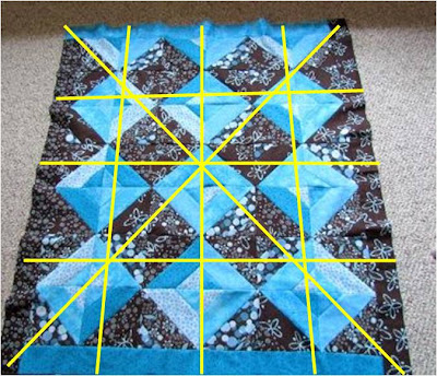 beginning quilting tutorial and free pattern1
