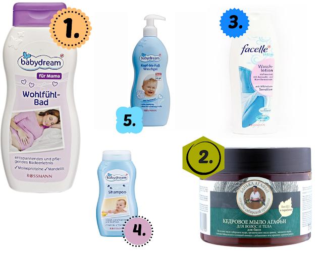Ulubione kosmetyki do zmywania olei z włosów - produkty pozbawione silnych detergentów
