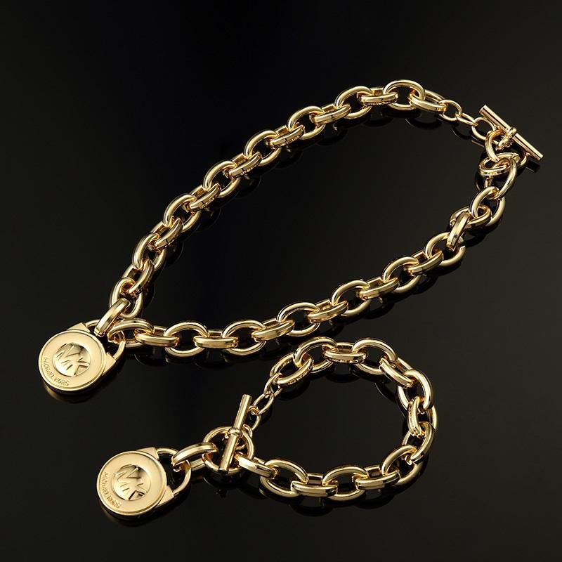 Free PadLock Gold Bracelet & Necklace