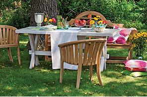 A mi manera ideas para decorar el jardin para una fiesta for Como remodelar mi jardin