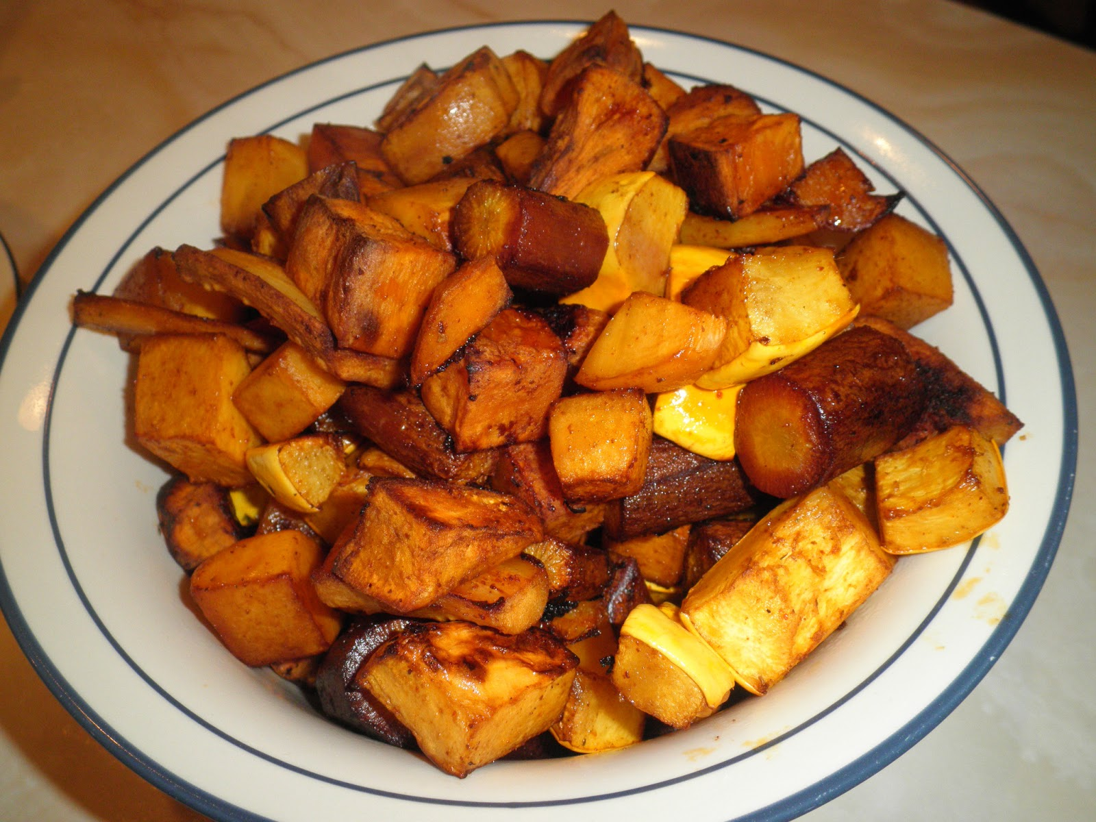 Secrets from the Cookie Princess: Roasted Winter Root ...