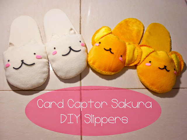 DIY Anime Accessories - Cardcaptor Sakura Slippers