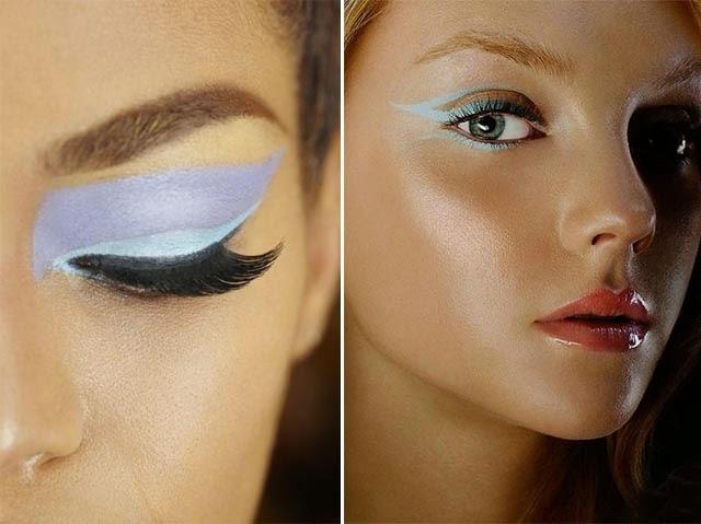 Tendance eye liner couleurs