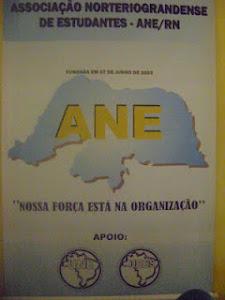 ASSOCIAÇÃO NORTERIOGRANDENSE DE ESTUDANTES - ANE-RN...