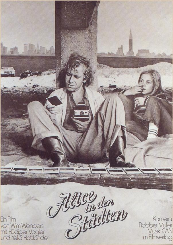 Alice in den Städten poster Alice in the Cities poster