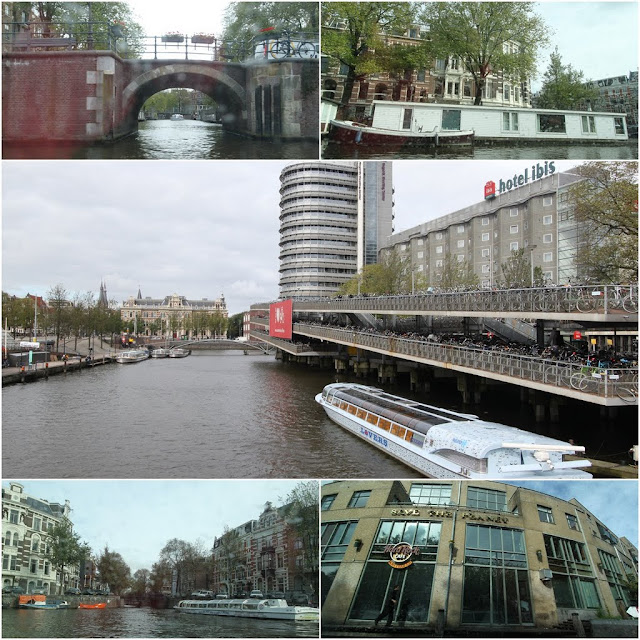 Taking an experienced ride along the canals of Amsterdam, Netherlands