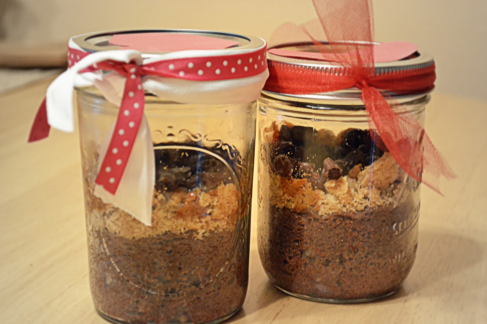 Angela Strand: Sweet and Salty Brownies {Love in a JAR}