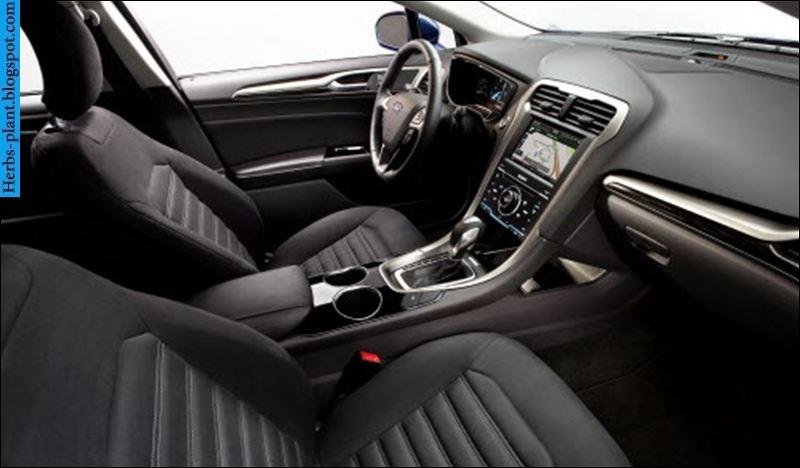Ford fusion car 2013 interior - صور سيارة فورد فيوجن 2013 من الداخل