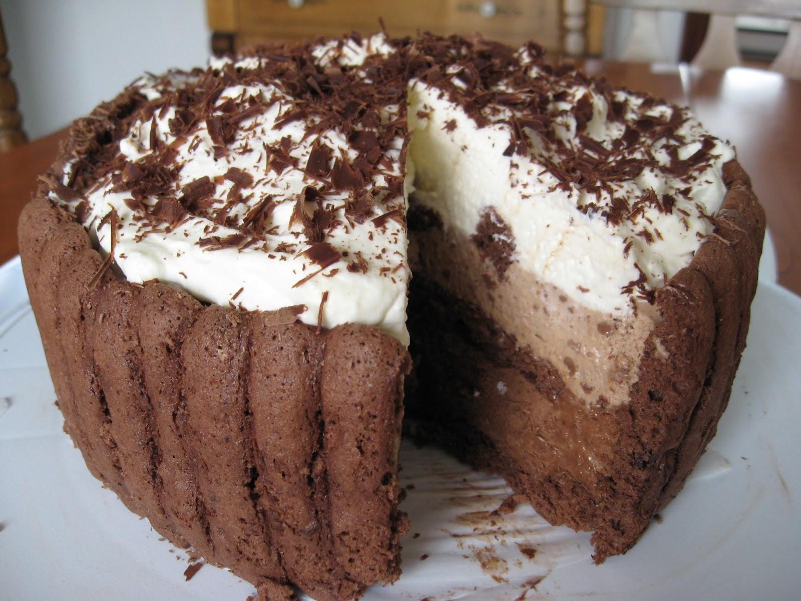 Recettes de flipp charlotte tout chocolat - Recette charlotte au chocolat ...