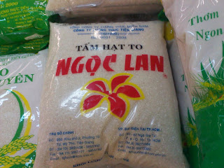 Asian Rice: Vietnamese rice