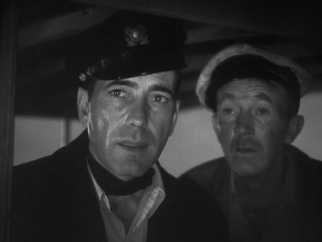 Humphrey Bogart and Walter Brennan in To Have and Have Not