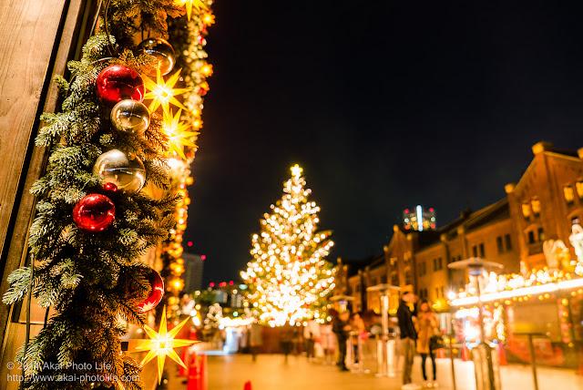 赤レンガ倉庫 クリスマスマーケット 飾り