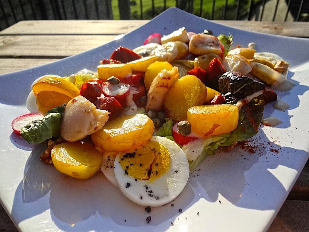 Scallop & Chorizo Salad