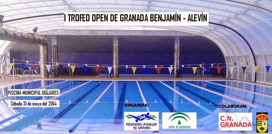 Club nataci n granada i trofeo open granada benjamin for Piscina municipal de granada