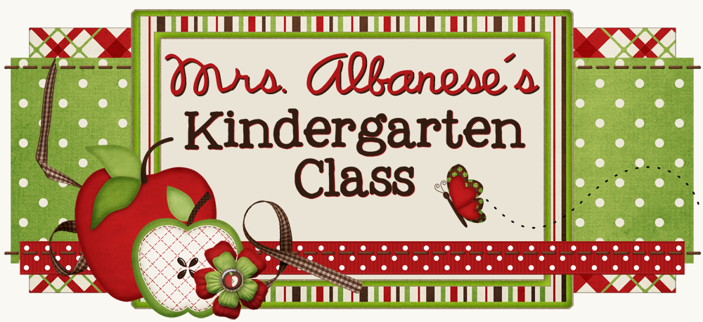 Mrs. Albanese's Kindergarten Class