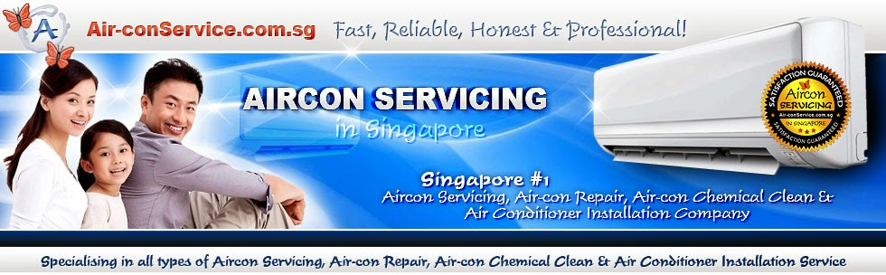 Leading Aircon Servicing, Air-con Repair, Chemical Clean & Installation Company