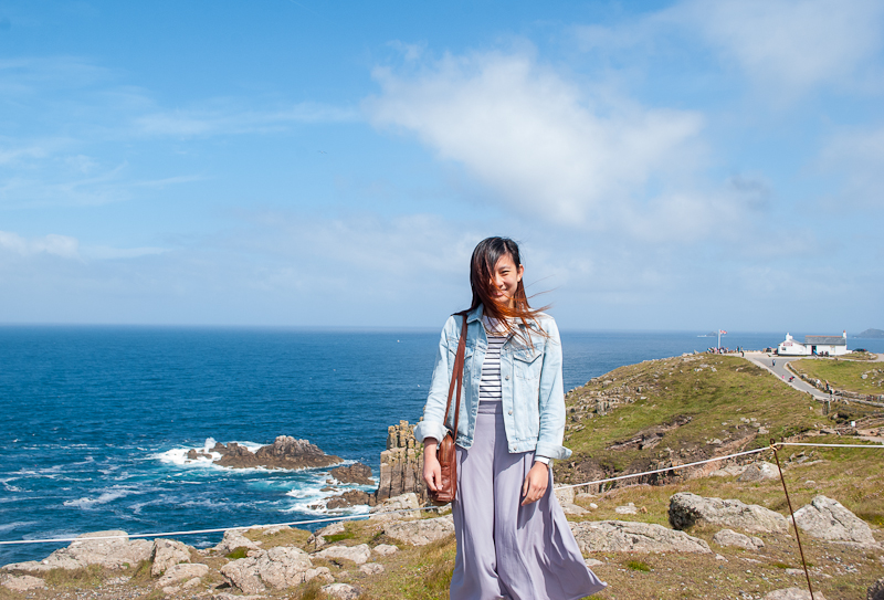 land's end, west cornwall, uk outfit of the day featuring pull and bear, h&m, and ASOS