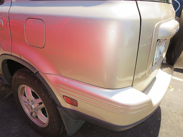 Fixed quarter panel and new bumper from Almost Everything Auto Body