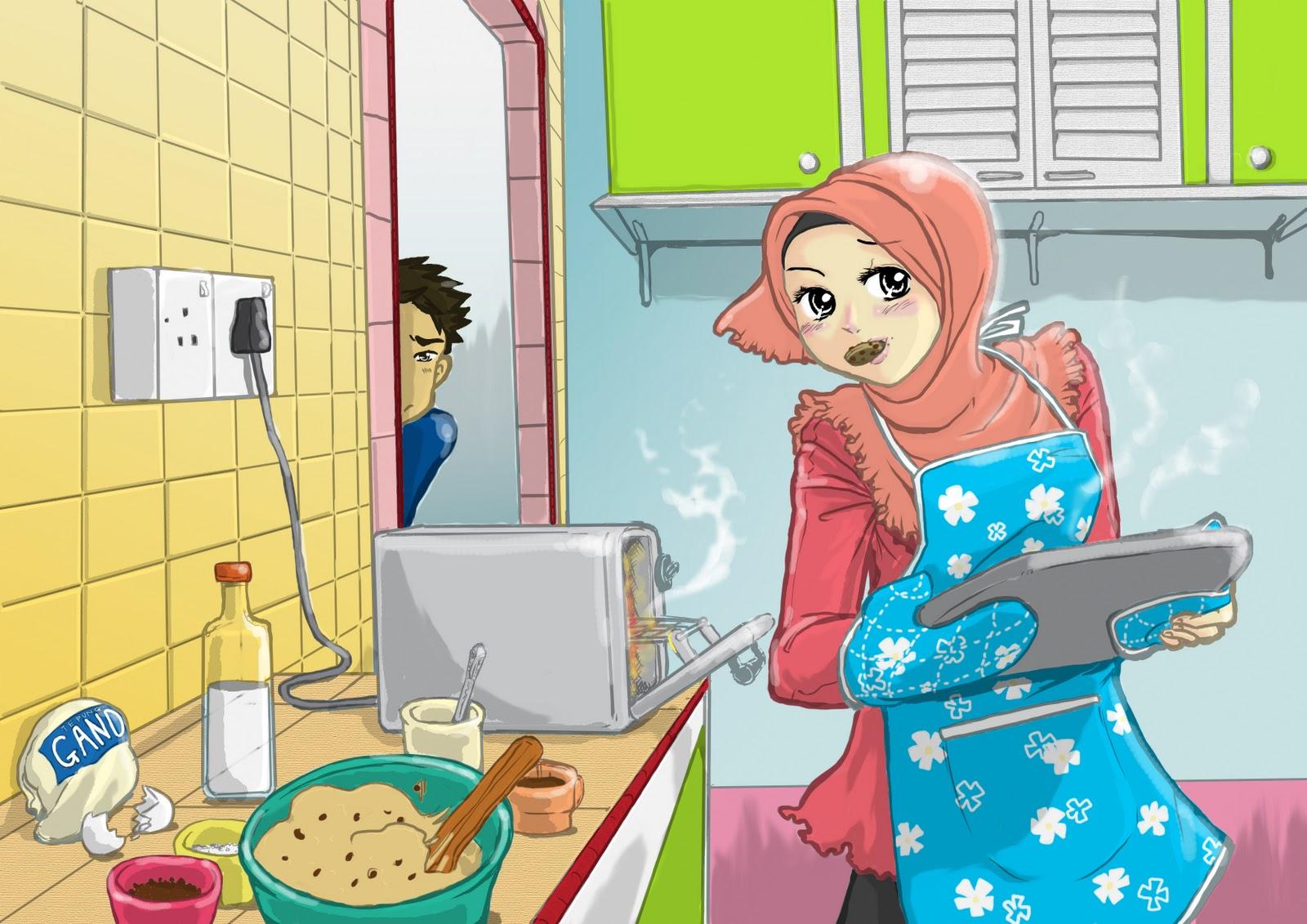 Wallpaper Muslimah Sejati