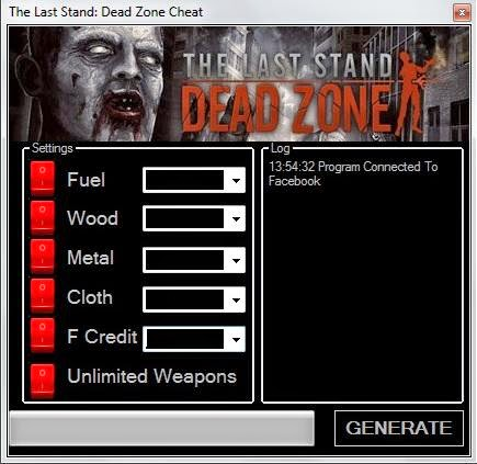 The Last Stand Dead Zone - fuel hack armor games main screen