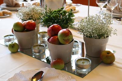decoración manzanas alba hogar