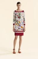 Hermoso vestido sencillo de hacer usando el molde básico del vestido.