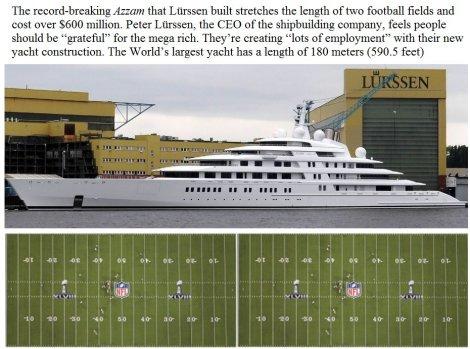 $600 million yacht