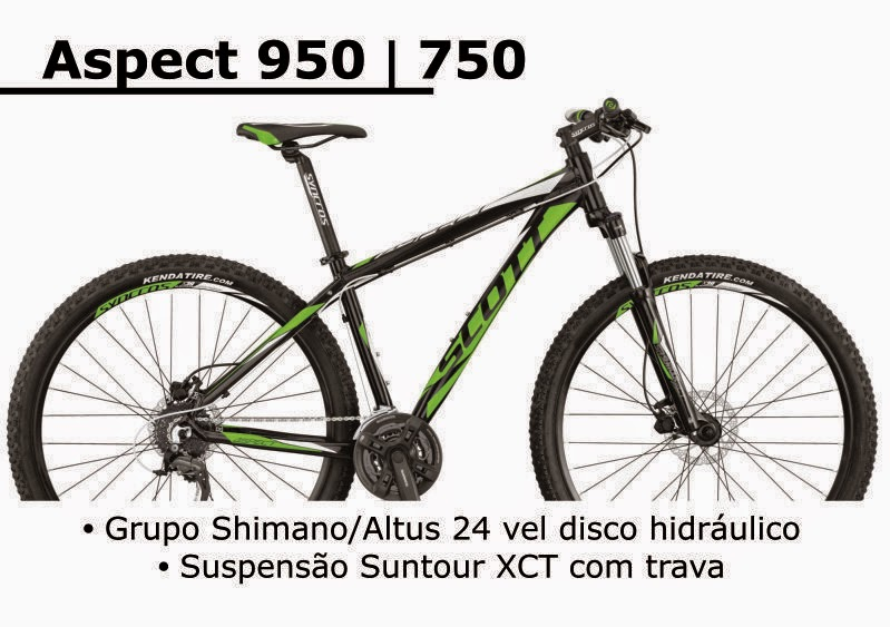 Bicicleta Scott Aspect 950 / 750 2015
