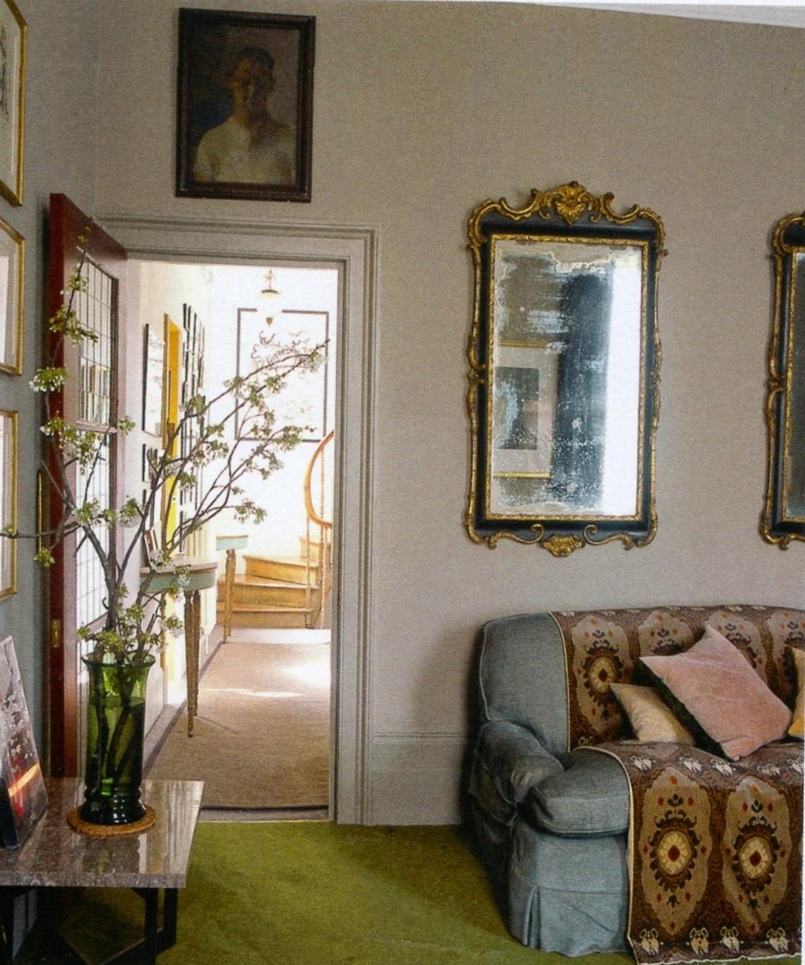 Superb Bella Freud S London Home Designed With Retrovious Karen Barlow