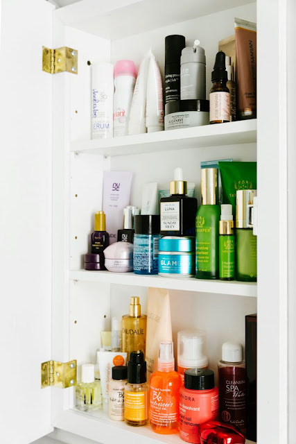 medicine cabinet skincare tips