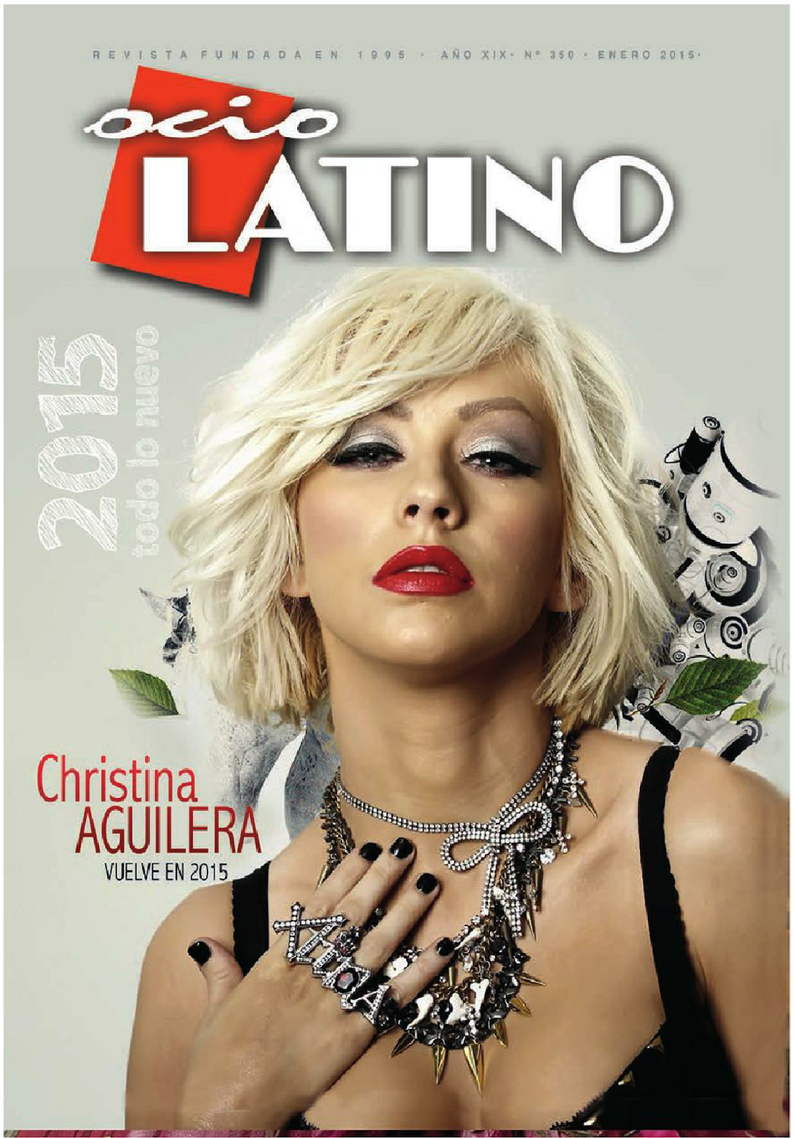 Christina Aguilera - Leisure Latino, Spain, January 2015
