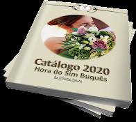 Grátis!!! Solicite o seu Catálogo de Buquês 2020